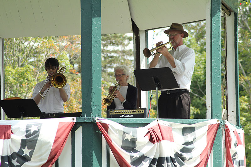 Brass ensemble 1st bandstand concert in years 2017 2188