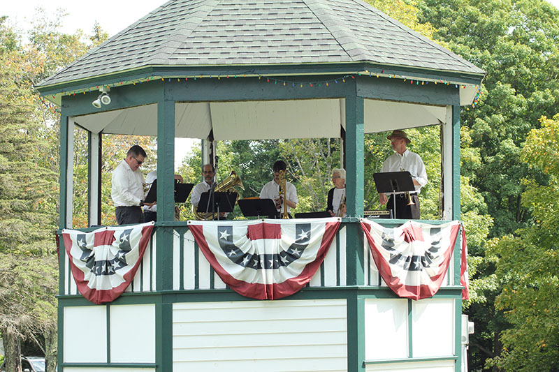 Brass ensemble 1st bandstand concert in years 2017 2186