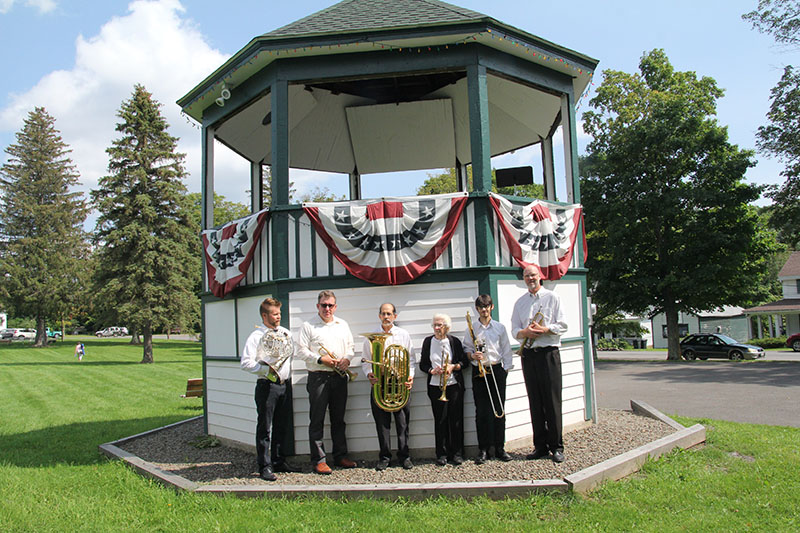 Brass ensemble 1st bandstand concert in years 2017 2215