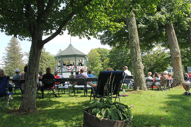 Brass ensemble 1st bandstand concert in years 2017 2207